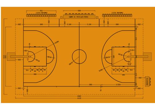 Basket - Campi da Gioco - Stadi