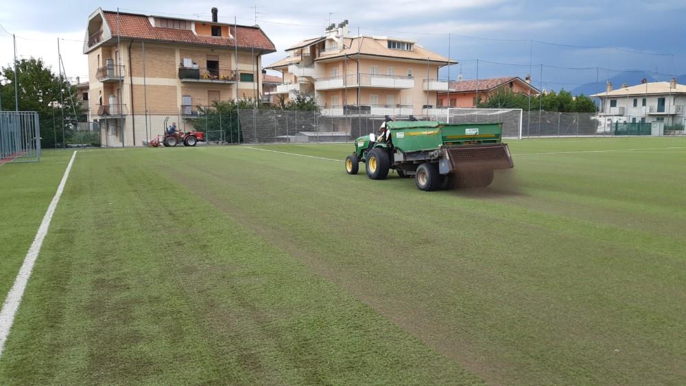 Campo. Sportivo - Castel di Lama - Realizzazioni - Stadi di ECOSERVICES
